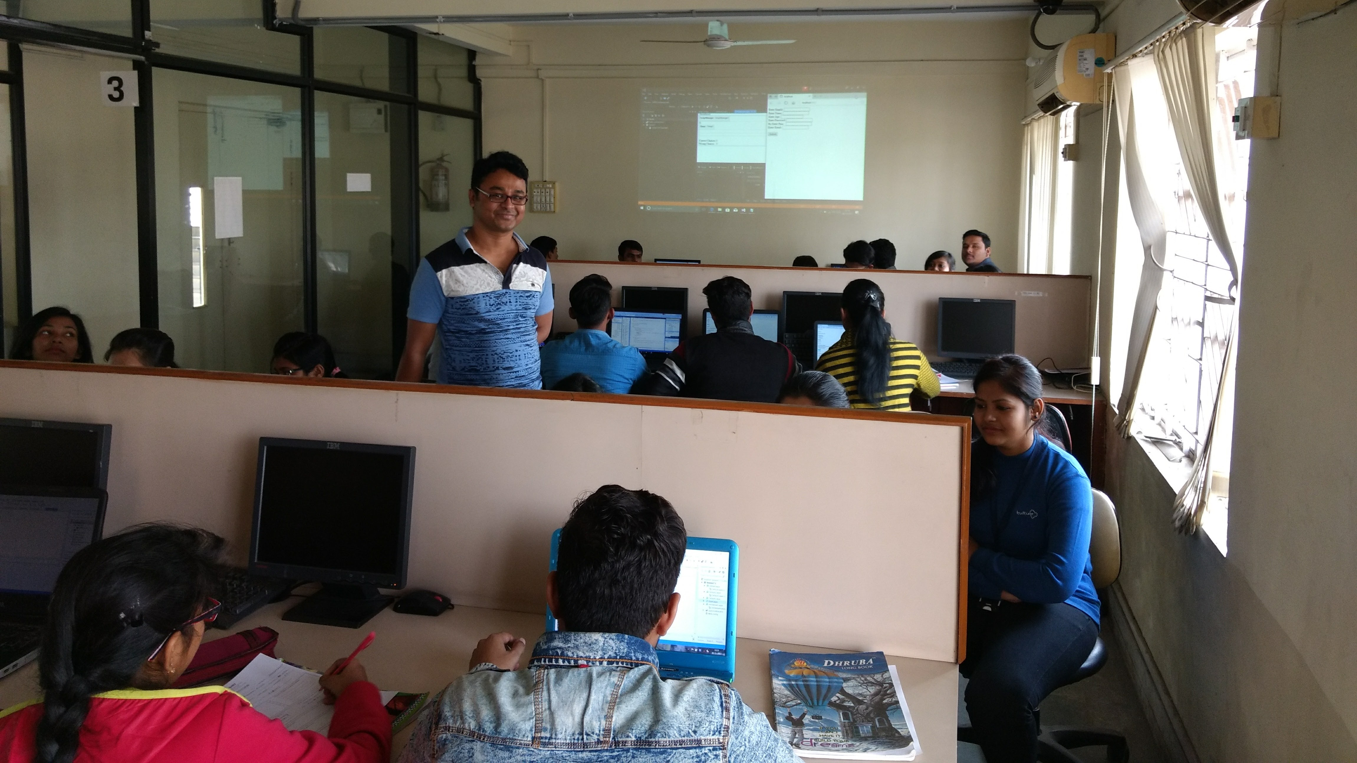 BCA final year project onsite training at Durgapur NHSM
